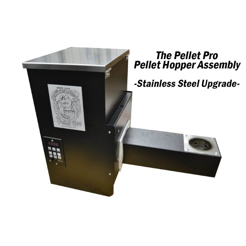 The pellet pro upgraded hopper assembly