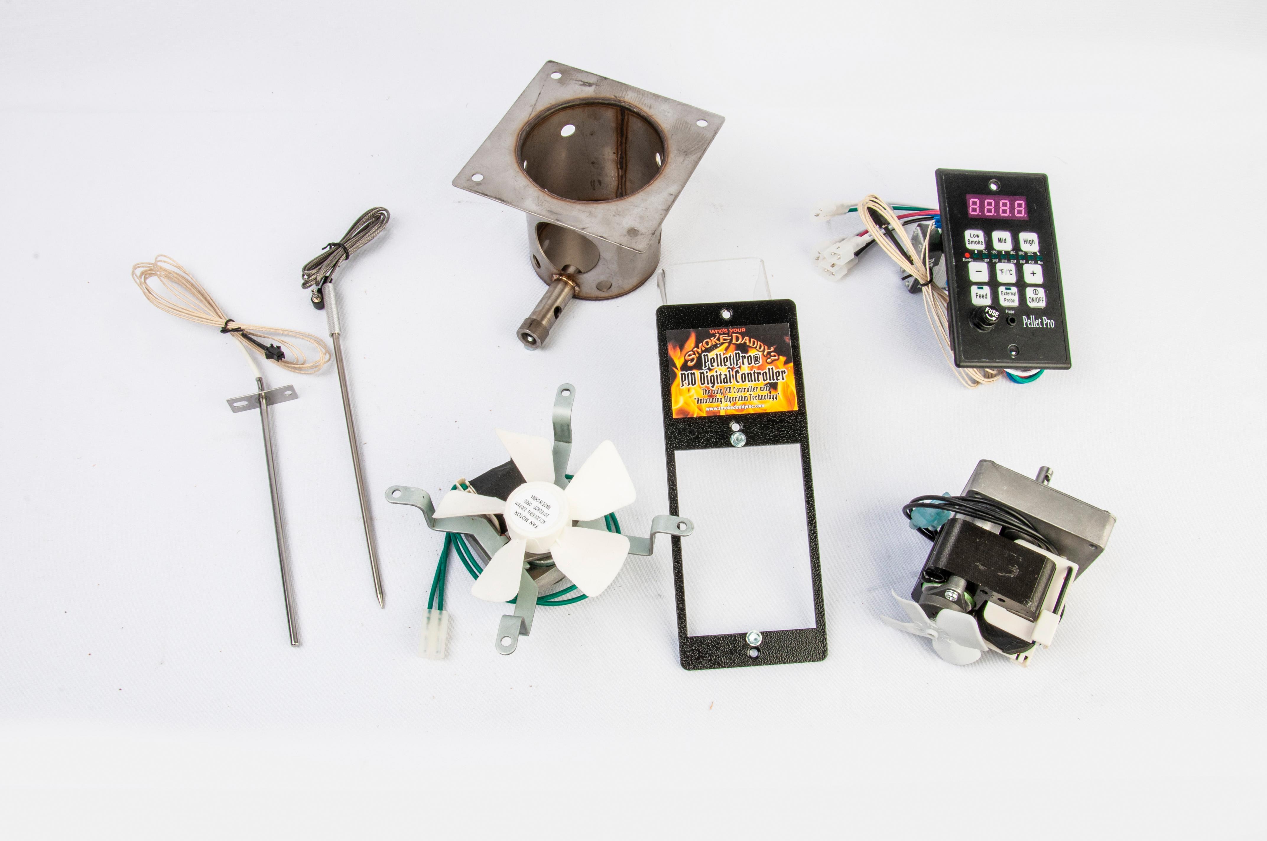 Pellet Pro PID Controller *Complete* Pellet Grill Upgrade Kit