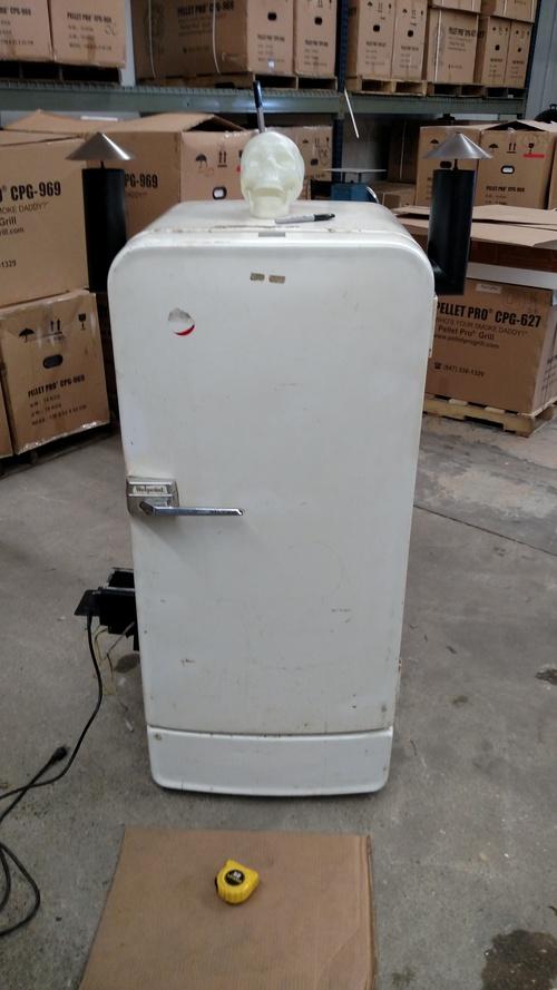 The Voo-Doo Hot Box Refrigerator Build - Smoke Daddy Inc ...