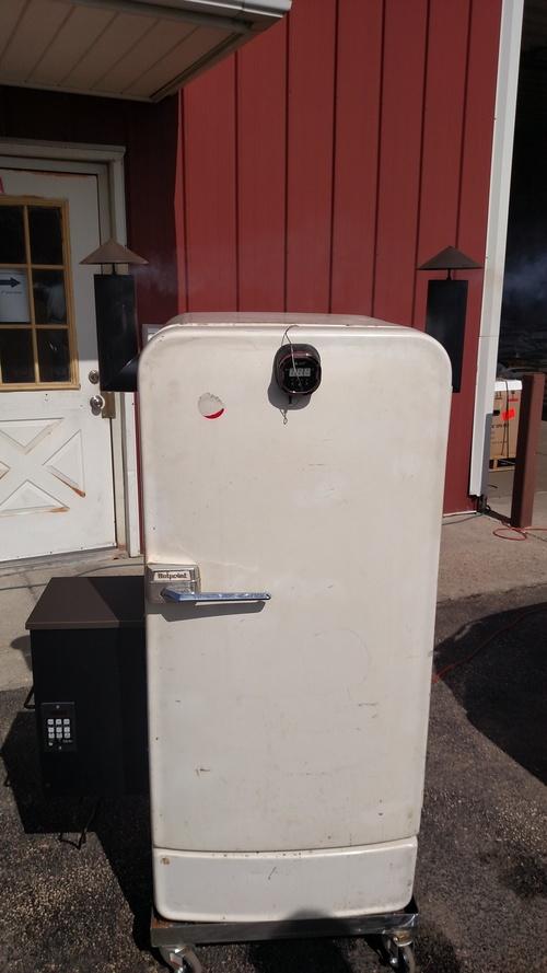 The Voo Doo Hot Box Refrigerator Build Smoke Daddy Inc