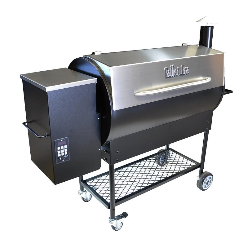 Smoke daddy pellet pro deluxe stainless steel pellet grill model 1190 summer special pellet - Pellet grills and smokers ...