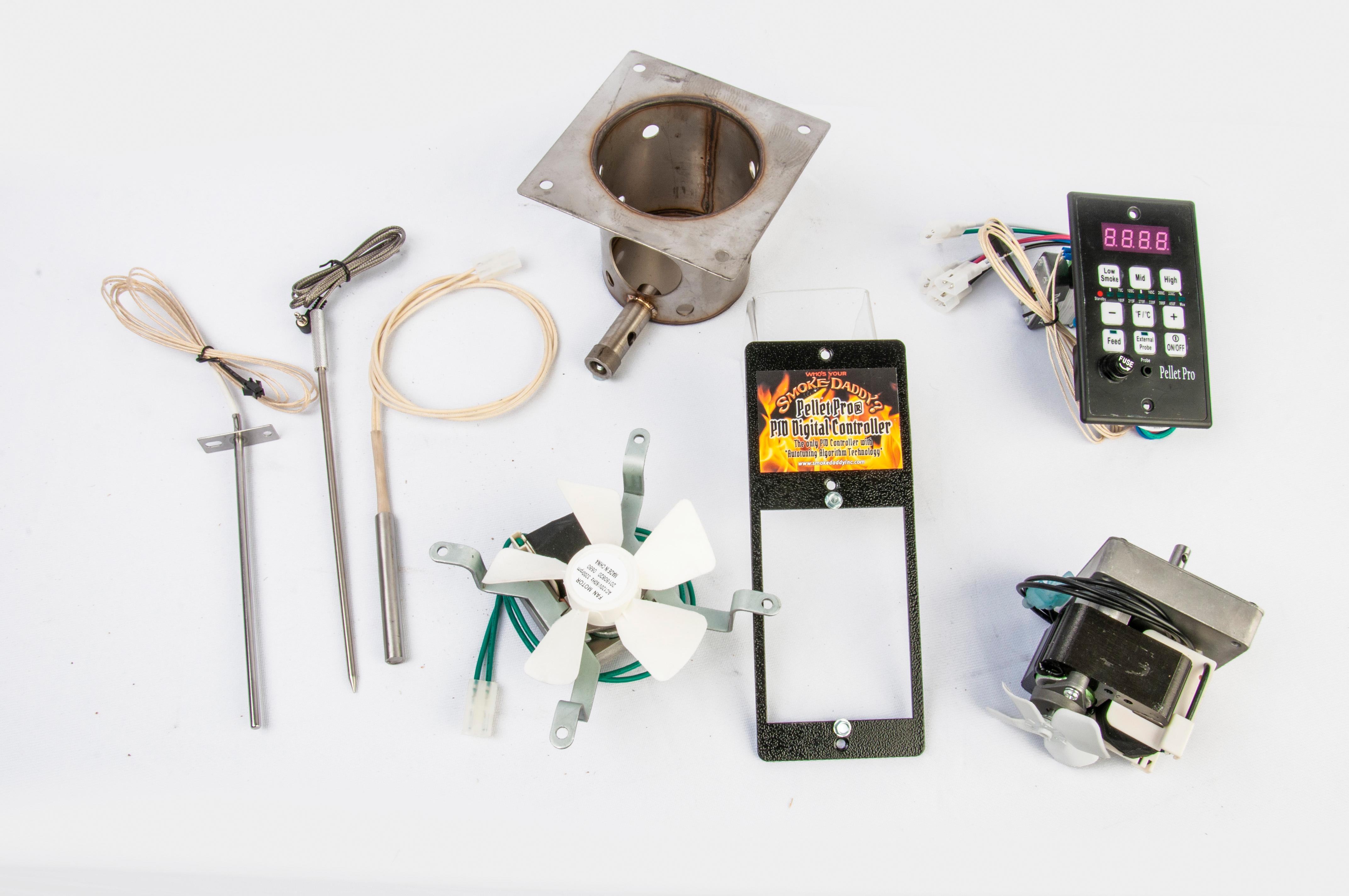 Pellet Pro PID Pellet Grill Rebuild Kit