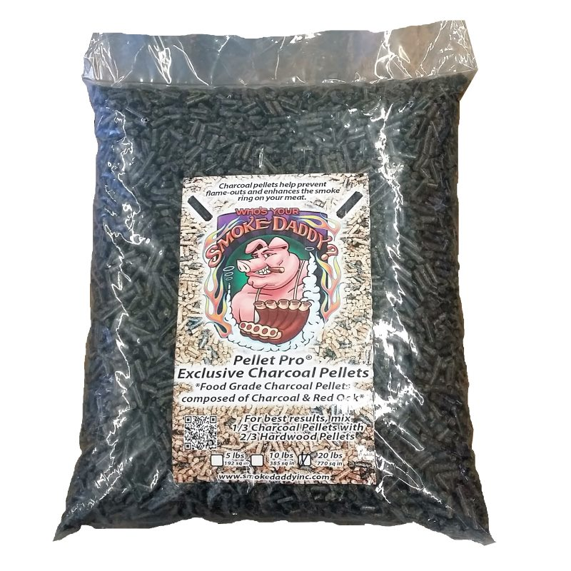 Pellet Pro® Exclusive Charcoal Pellets – 20lb Bag