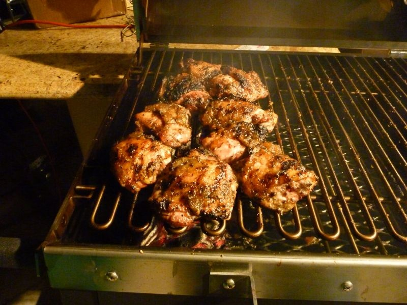 Roasted Apple Chicken Thighs