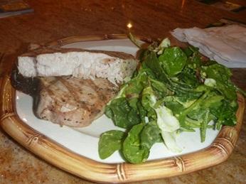 Citrus Olive Oil Swordfish