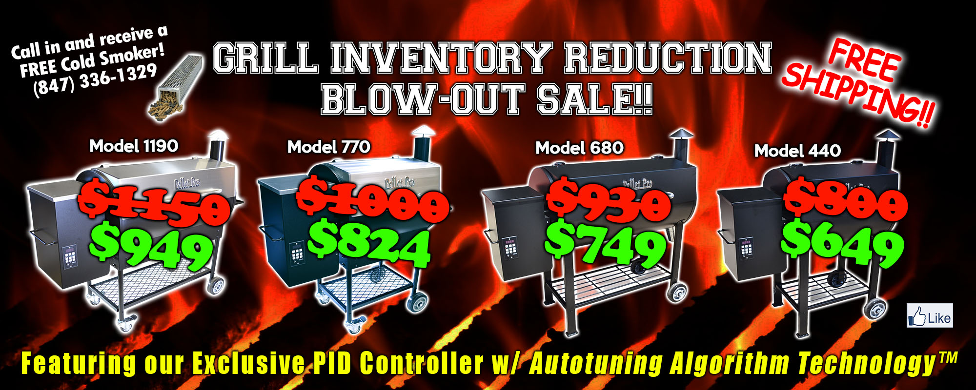 2019 Grill Reduction Sale