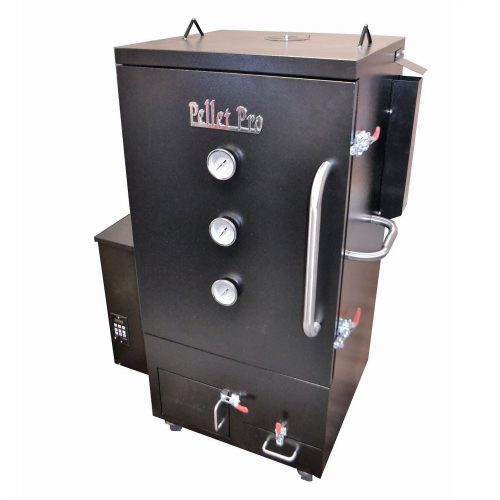 vertical pellet smoker