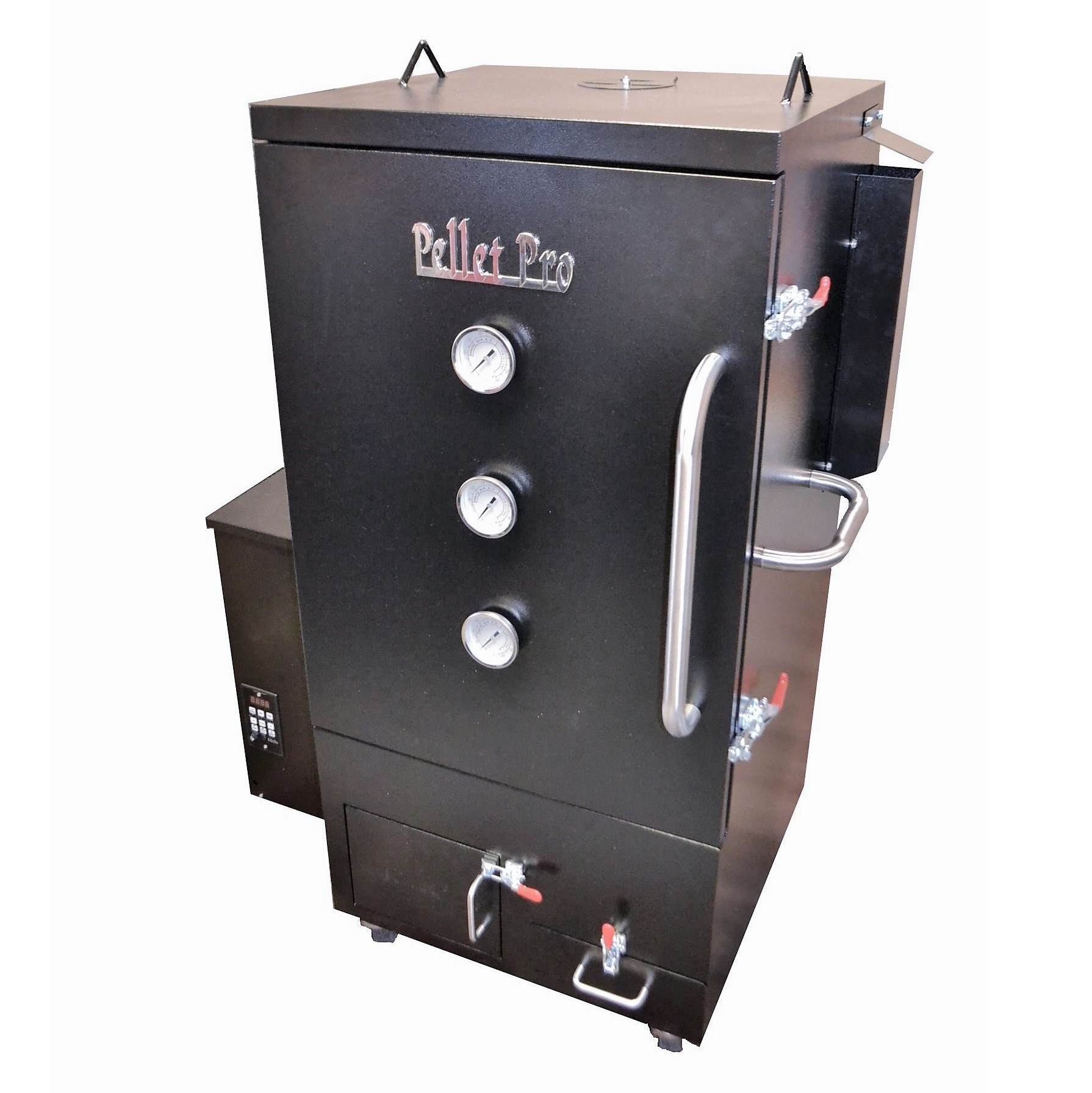The Pellet Pro® Vertical Double Wall Cabinet Pellet Smoker with Free Cover