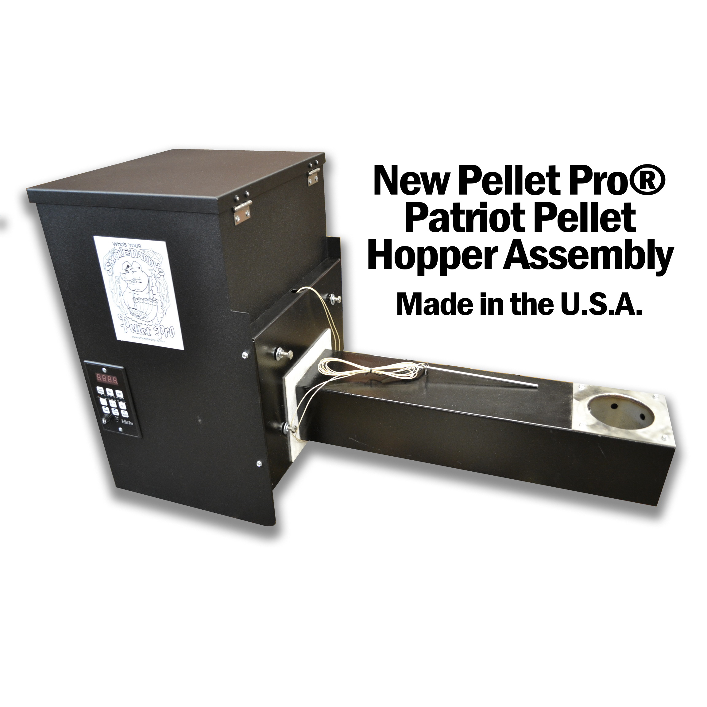 *NEW* Heavy Duty Pellet Pro® Patriot Pellet Hopper Assembly – Made in the U.S.A.
