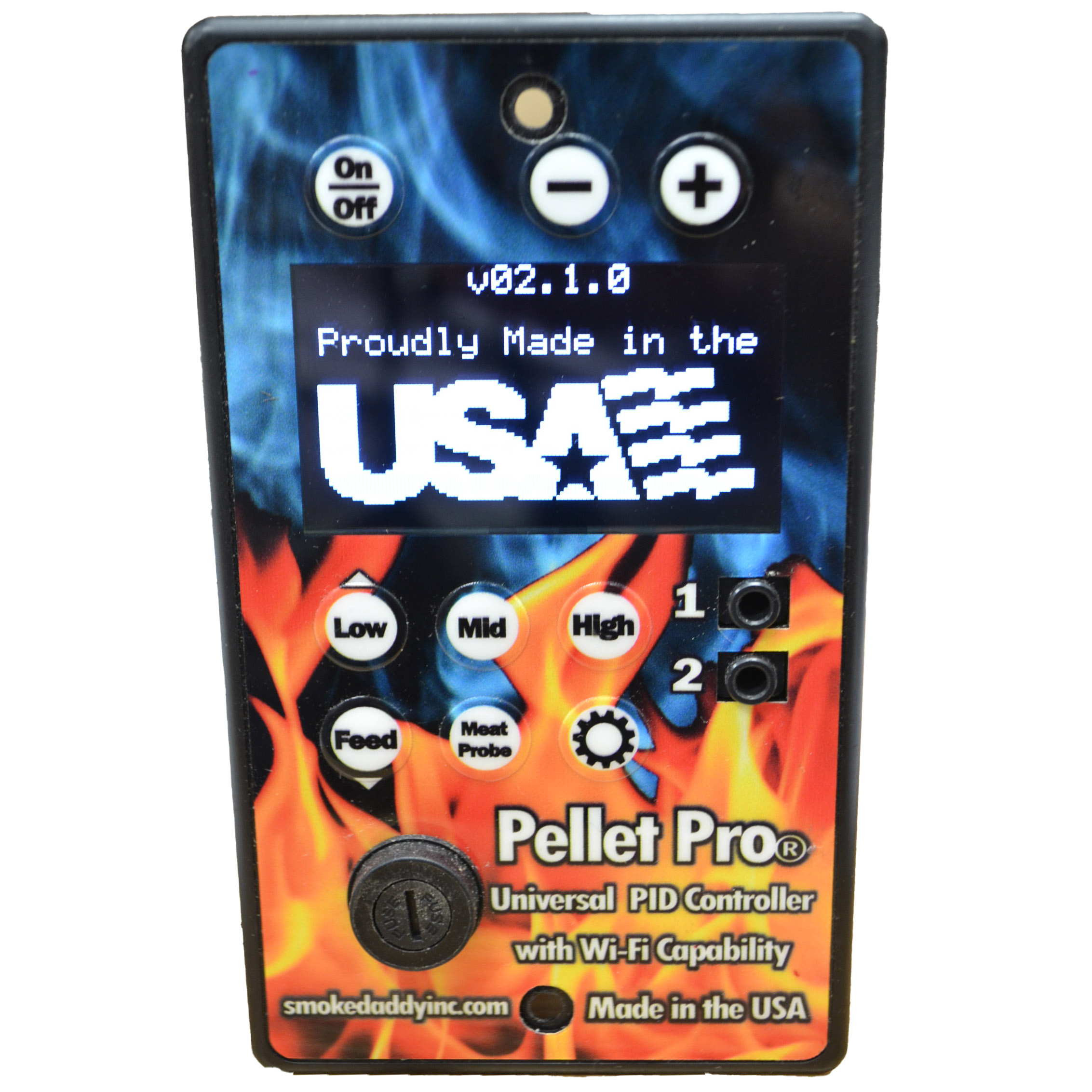 *NEW* Pellet Pro® Patriot PID Controller with Wi-Fi Capability – Upgrade for Pellet Grills
